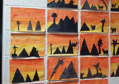 Children's art | St Columbanus NS